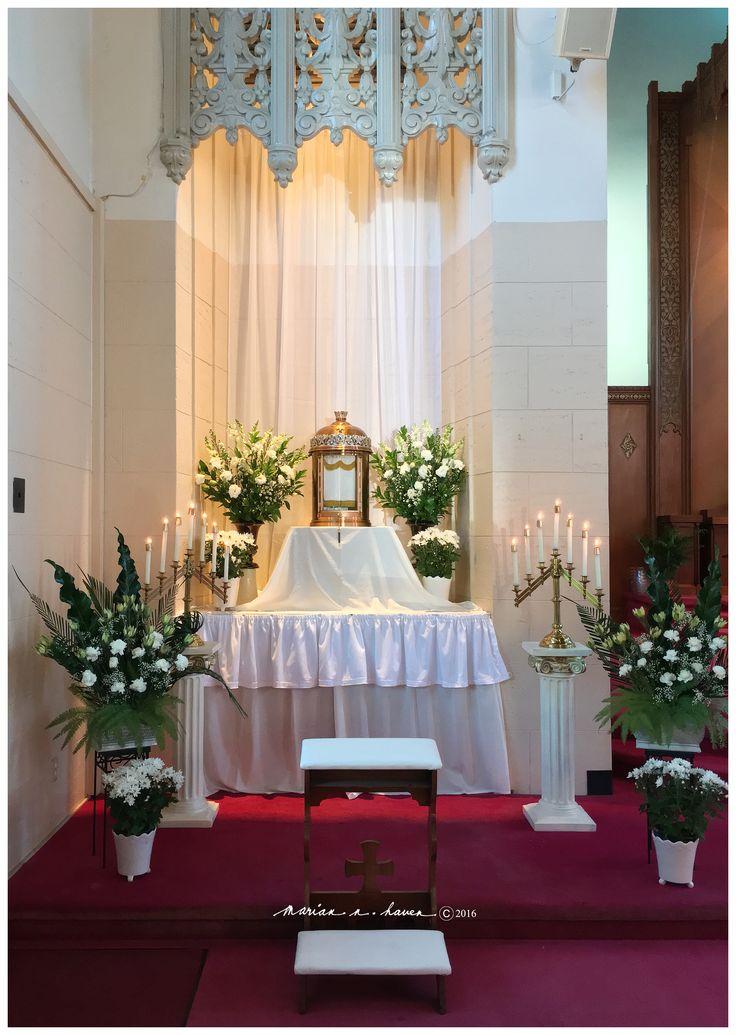 Altar of Repose, Holy Thursday 2016