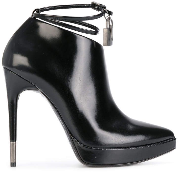 Tom Ford heeled ankle boots