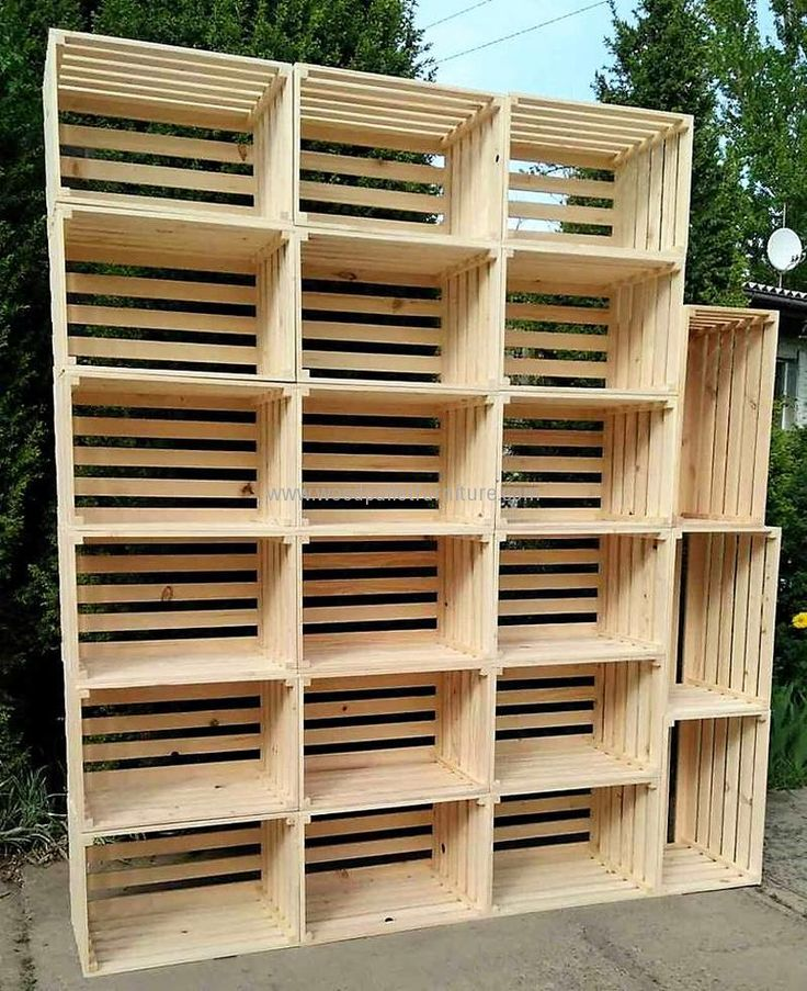 25 Best Ideas About Crate Shelving On Pinterest Wooden