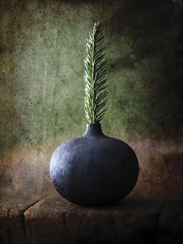 Årets juletre!! Liten keramikk vase, kr 220, fra Norway Designs.