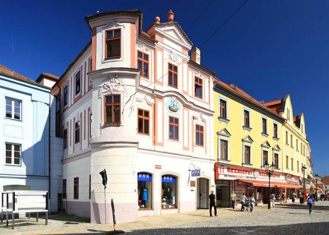 Písek - House at the Golden Ship