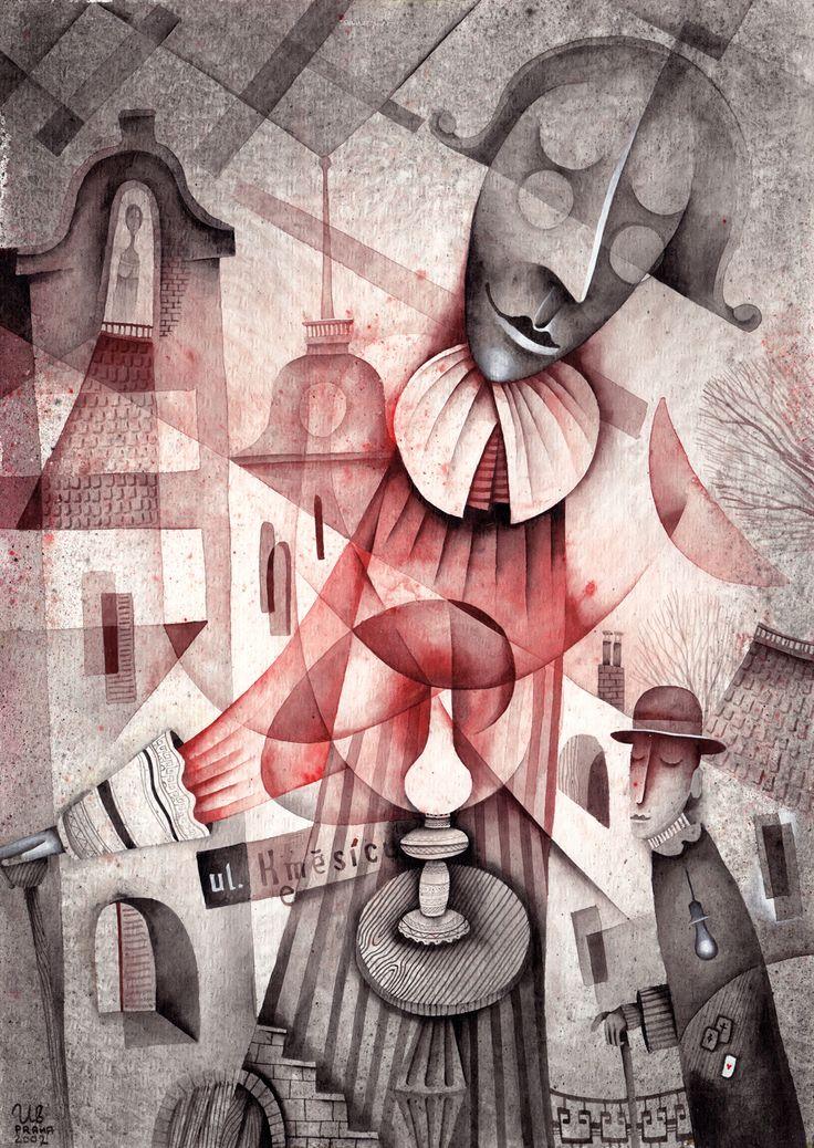 Method of Back Home by Eugene Ivanov, 2002 #eugeneivanov #cubism #avantgarde #cubist #artwork #cubist_artwork #abstract #geometric #association #futurism #futurismo #@eugene_1_ivanov