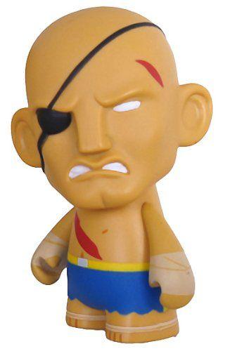 Sagat: Street Fighter x KidRobot 3 Mini-Figure Series @ niftywarehouse.com #NiftyWarehouse #StreetFighter #VideoGames #Gaming