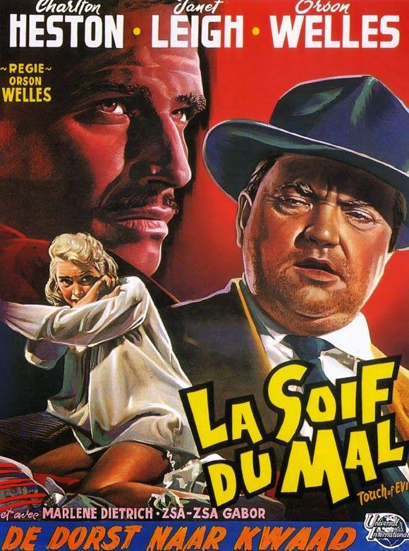 "Filmes Antigos Club Artigos: A Marca da Maldade: Orson Welles e o Último dos Clássicos ""Noir"" do Cinema."