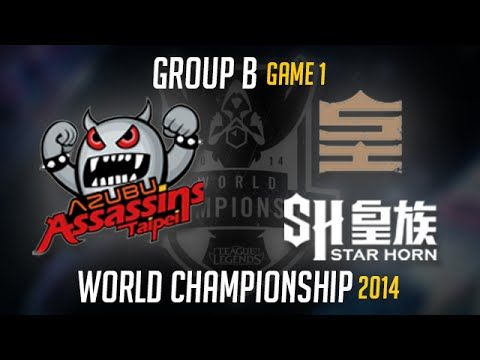 Taipei Assassins vs Star Horn Royal Club S4 Worlds | TPA vs SHR LoL S4 W...