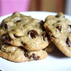 Grote chocolate chip koekjes