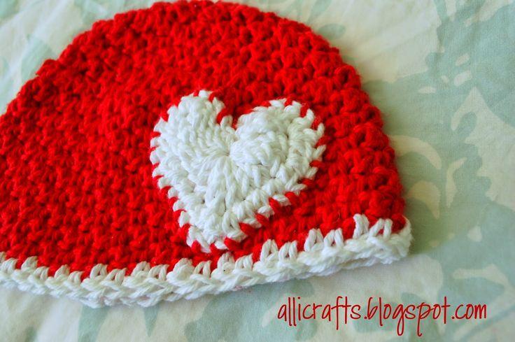 Alli Crafts: Free Pattern: Up and Down Stitch Hat - Newborn