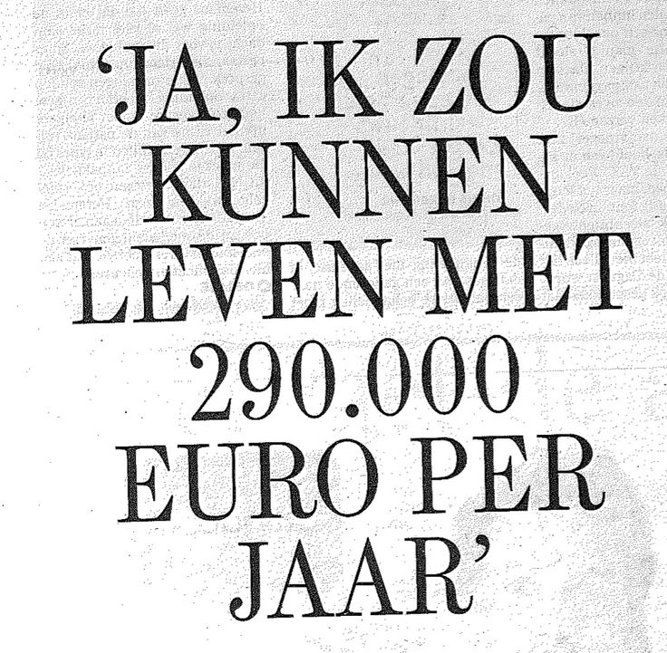 Spotted in #DeStandaard