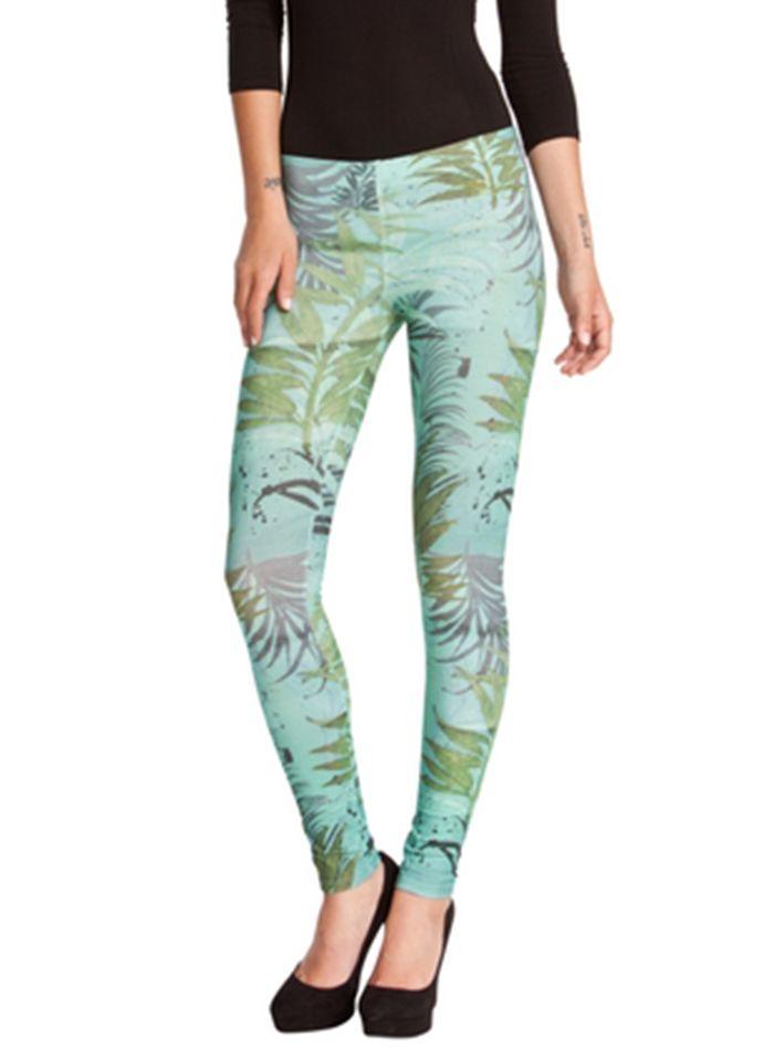DESIGUAL Leggins TRASS verde - 21,76€ : Fashion Monicapecado