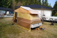 combi camp speed trailer tent - Google Search