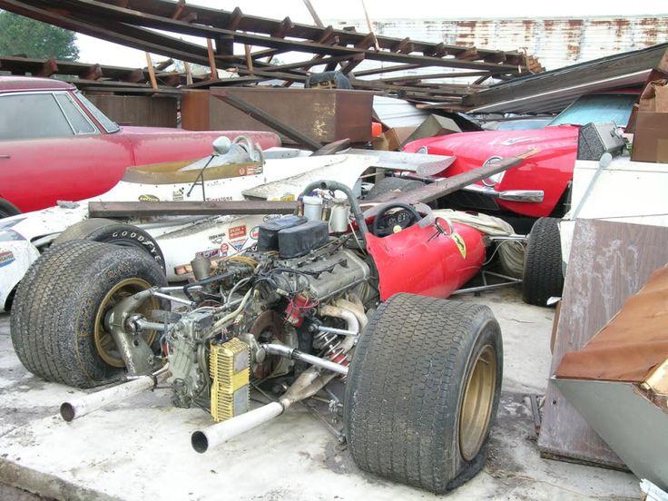 That's my idea of a junk yard