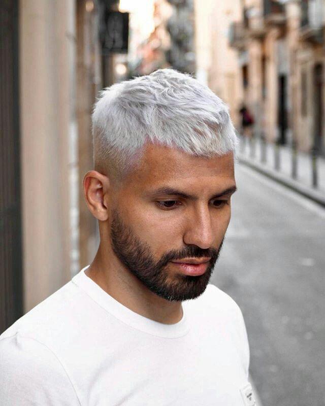 Aguero Haircuts For Men Men Haircut Styles Bleached Hair Men