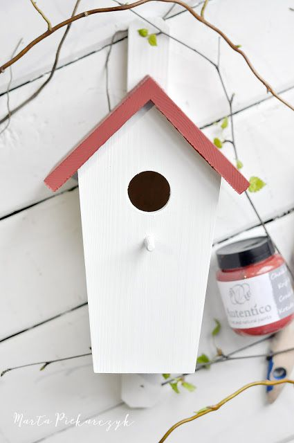 Wood&Crafts - kreatywne malowanie: Wiosenna budka