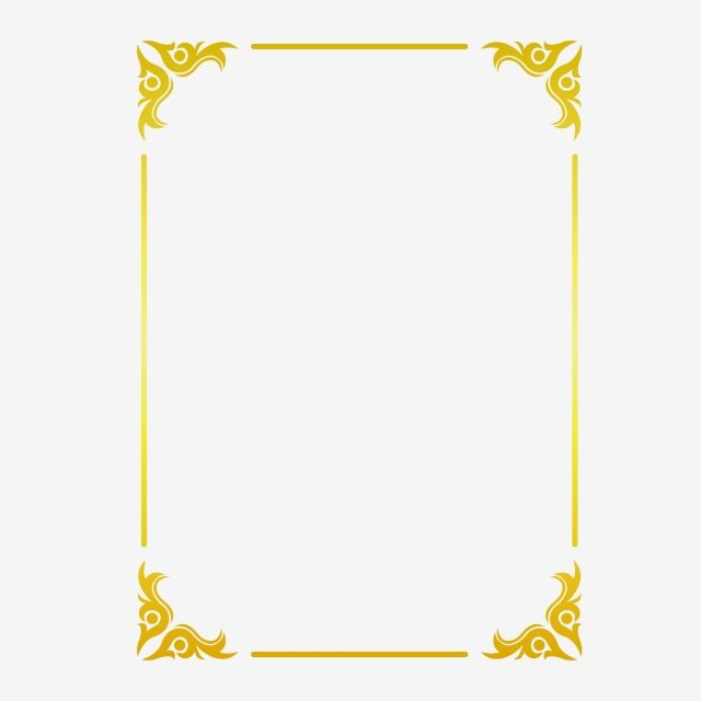 30+ Trends Ideas Border Vector Gold Frame Png