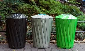Bilderesultat for park trash can design