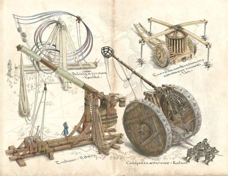war machines - by Claudio Prati