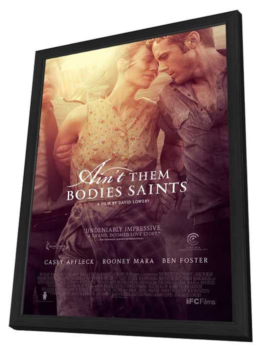 Ain't Them Bodies Saints 27x40 Framed Movie Poster (2013)