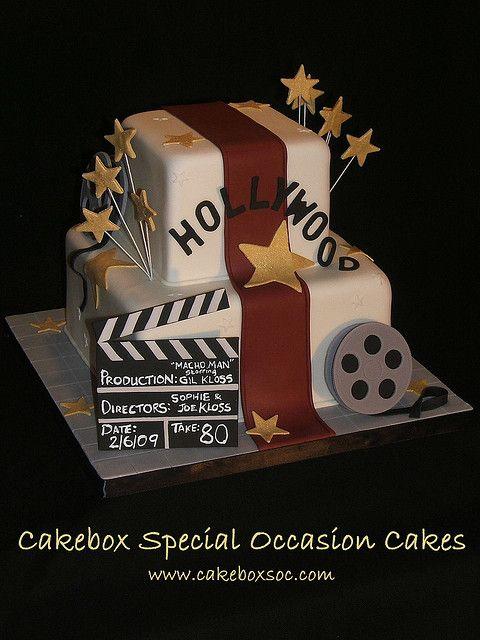 Hollywood Theme Cake Designs | Hollywood Cake | Flickr - Photo Sharing!