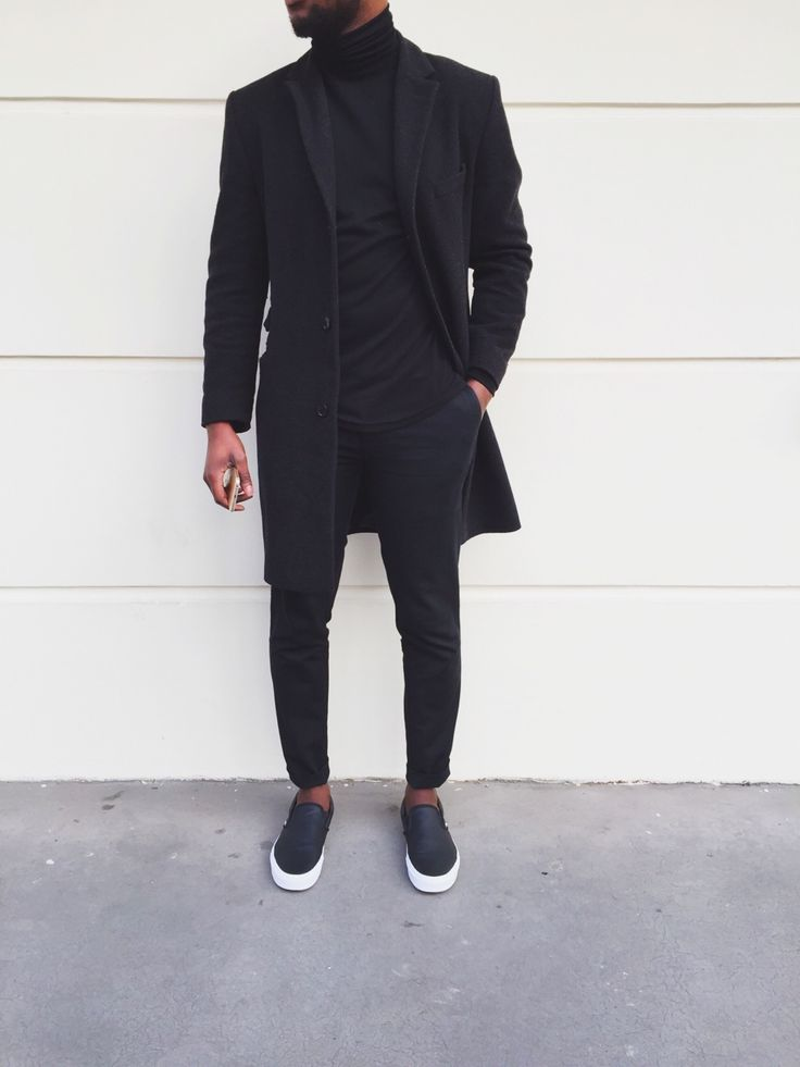 Not quite Spring where you are? Can't go wrong with all black.