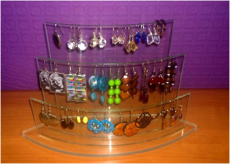 stojak na kolcze ,  www.polandhandmade.pl , www.glassatelier.pl ,