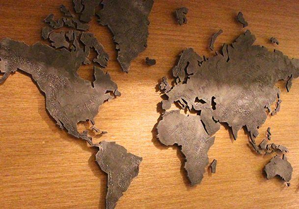 Wereldkaart design
