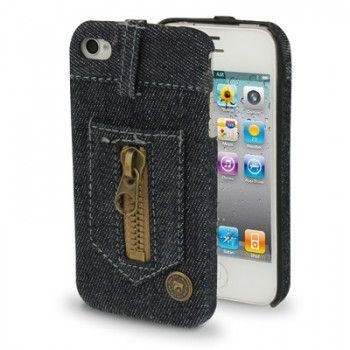 Blue Jeans Style Case for iPhone 4 & 4S