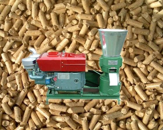 Peanut shell pellet is small columned pellet fuel which is remolded from peanut shell by pellet making machine. Peanut shell pellet has higher bulk density (900-1100kg/m3) than peanut shell (120-140 kg/m3), so it is more convenient to transport and st
