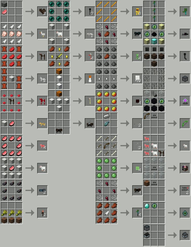 Craftable Animals | Minecraft Mods