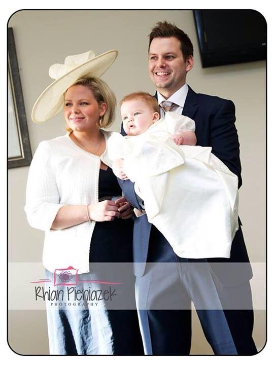 Families. Parents and son. Christening. Ffos Las Racecourse. Rhian Pieniazek Photography.