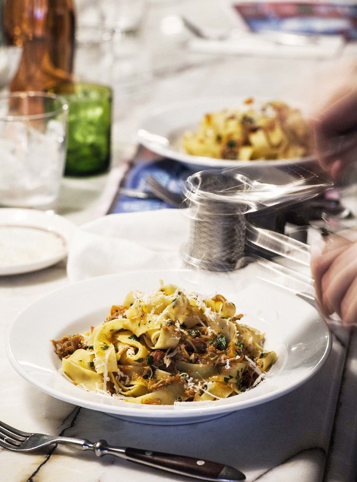 Tonight is the night! The night you splash out a little, unwind a bit and try something new. Something like Pappardelle with Duck Ragu right here http://indulgemagazine.net/recipe-items/pappardelle-with-duck-ragu/!