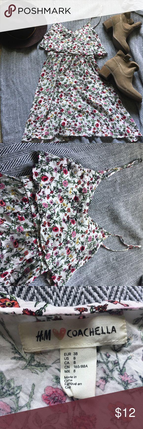 Coachella dress Cute little festival/summer dress from H&M's Coachella collection. Floral design. H&M Dresses Mini