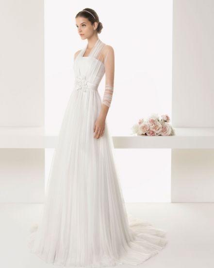 Прямое свадебное платье BALMES