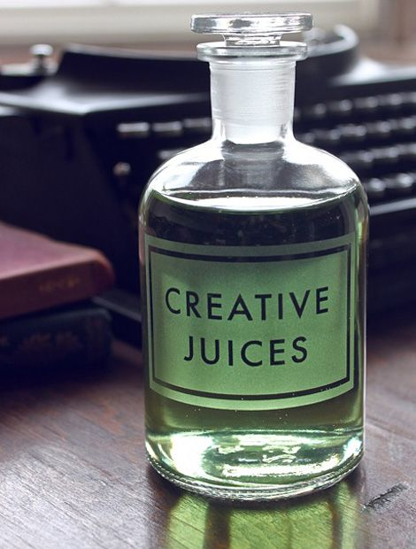 I need a shot of some Creative Juice right now.