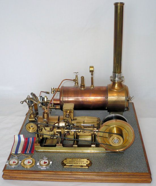 Steam Engine Kits | File:Racine high-speed steam engine (New Catechism of the Steam Engine ...