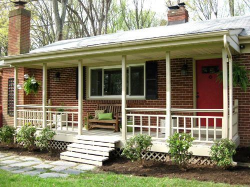 front Build a Porch | But lets not dwell on the past. It's time for the after pictures!