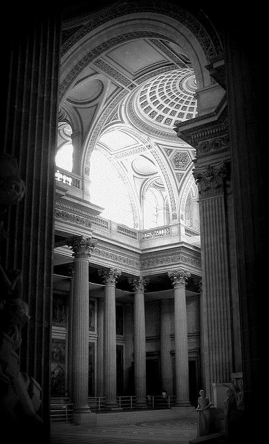 Inside the Pantheon  Paris