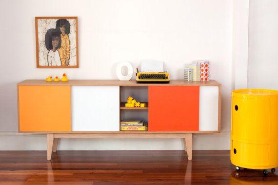 S180 Sideboard  Mid century modern Entertainmnet unit by Senkki
