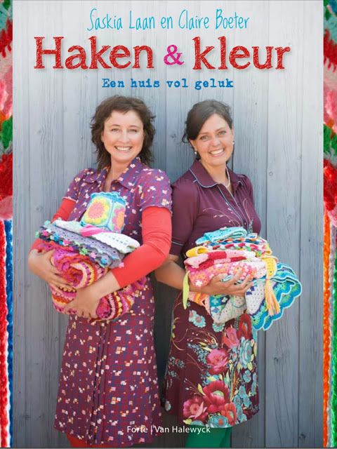 Our book: Hooks and Colour - A House Full of Happiness (Haken & Kleur - een huis vol geluk) !