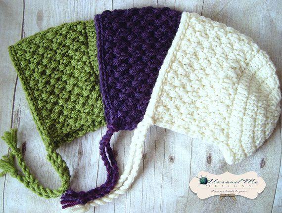 PDF Crochet Pattern Bonnie Wee by UnravelMe on Etsy