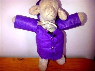 Lambie is a stuffed lamb that belongs to Mason, a three-year-old boy who's blind. Full story here: http://www.lfpress.com/2013/01/28/more-than-1000-read-online-ad-seeking-help-find-toddlers-beloved-toy