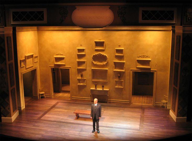 Permanent Collection. The Arizona Theatre Company. Scenic design by Robin Sanford Roberts.
