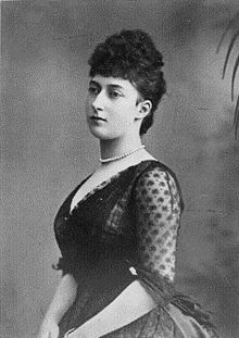 Queen Maud of Norway(1869-1938)married King Haakon VII.  Queen Maud was the daughter of King Edward VII & Queen Alexandra of the UK.