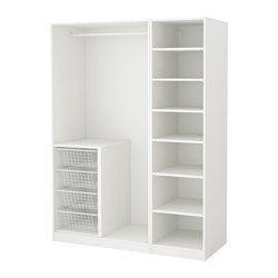 Luxury PAX Wardrobe white white xx cm IKEA