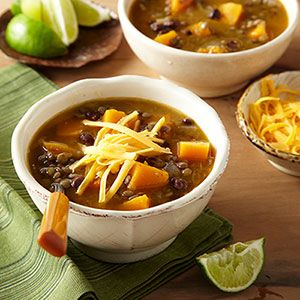White Chili with Black Beans