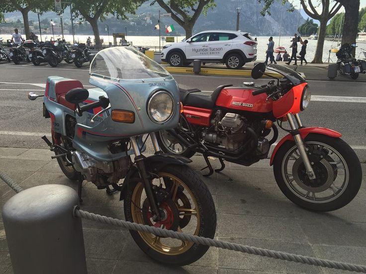 Ducati Pantah 500 & Moto Guzzi 850 Le Mans