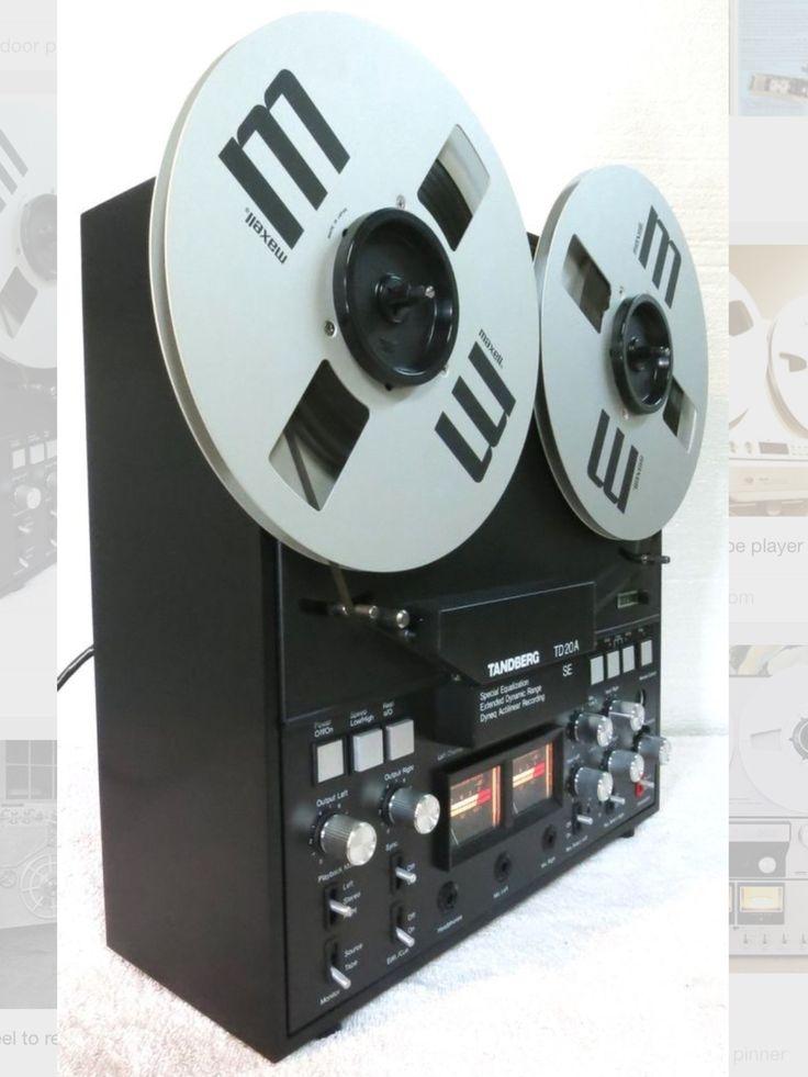 TANDBERG TD 20A SE - www.remix-numerisation.fr - Rendez vos souvenirs durables ! - Sauvegarde - Transfert - Copie - Restauration de bande magnétique Audio - MiniDisc - Cassette Audio et Cassette VHS - VHSC - SVHSC - Video8 - Hi8 - Digital8 - MiniDv - Laserdisc