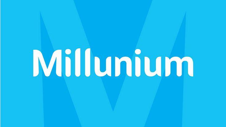 Millunium Font freefonts fonts download Modern sans