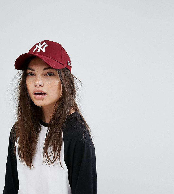 NEW ERA 9FORTY BERRY NY EXCLUSIVE CAP - RED. #newera #