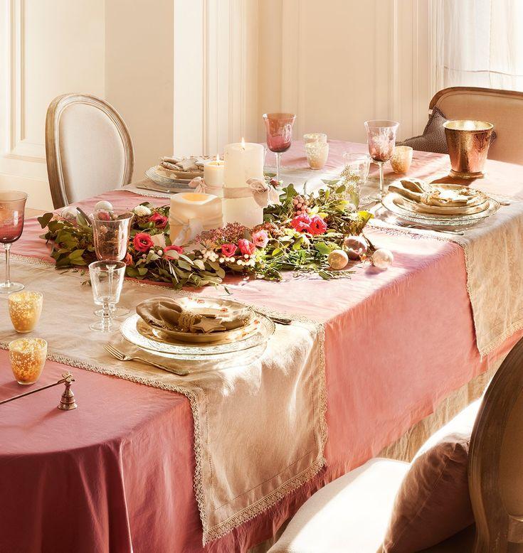 Mesas listas para celebrar · ElMueble.com · Navidad: