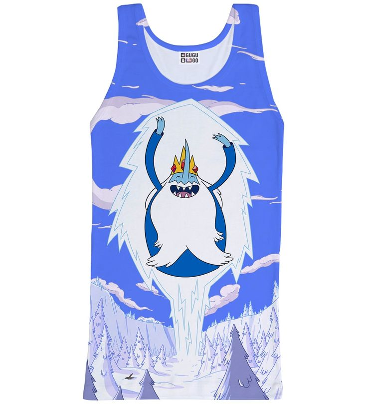 Ice King Attack tank-top, Mr. GUGU & Miss GO